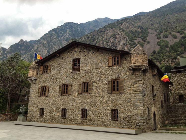 Andorra la Vella in the past, History of Andorra la Vella