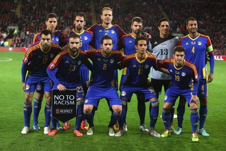 Andorra national football team World Cup 2018 qualifiers Team photos Andorra national football