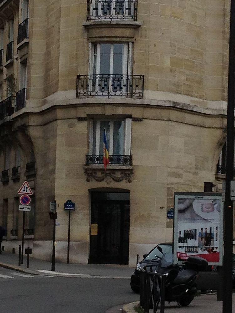 Andorran ambassador to France