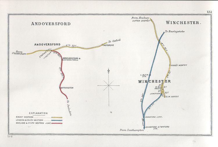 Andoversford and Dowdeswell railway station