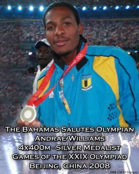 Andrae Williams thebahamasweeklycom Interview with Bahamian Silver Medal Olympic