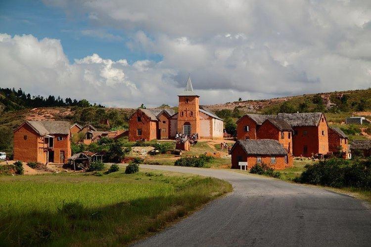 Andramasina Panoramio Photo of Village sur la route d39Andramasina