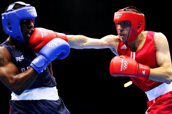 Andranik Hakobyan Terrell Gausha and Andranik Hakobyan Photos Photos Olympics Day 1