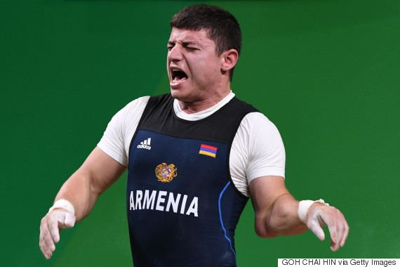 Andranik Karapetyan Andranik Karapetyan Armenian Weightlifter Suffers Unholy Elbow Injury