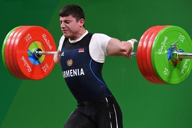 Andranik Karapetyan Rio 2016 Olympics Horrifying moment Andranik Karapetyan dislocates