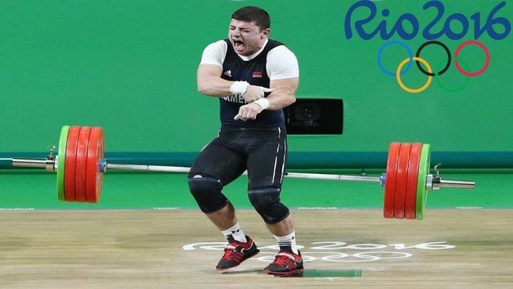 Andranik Karapetyan Armenian Andranik Karapetyan Dislocates ELBOW In Weightlifting At