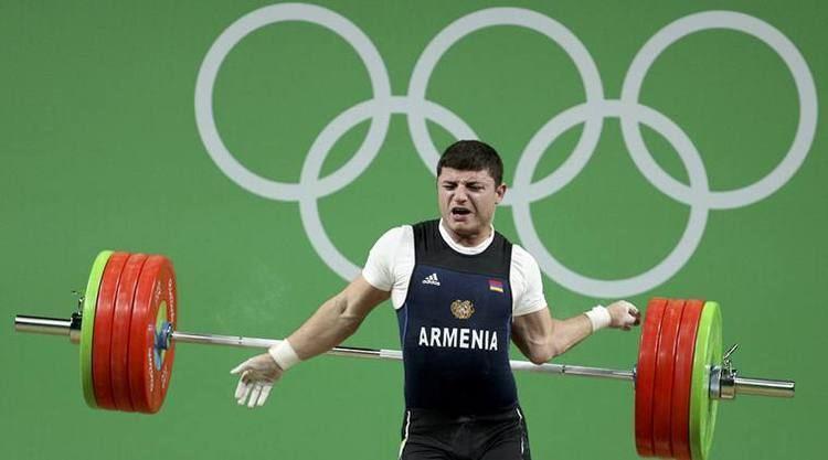 Andranik Karapetyan Armenian weightlifter Andranik Karapetyan39s injury 39is no fracture