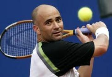 Andre Agassi Where are they now Andre Agassi and Steffi Graf STEVE G
