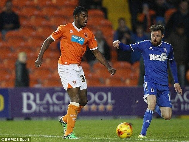 Andre Blackman Former Celtic star and Blackpool outcast Andre Blackman