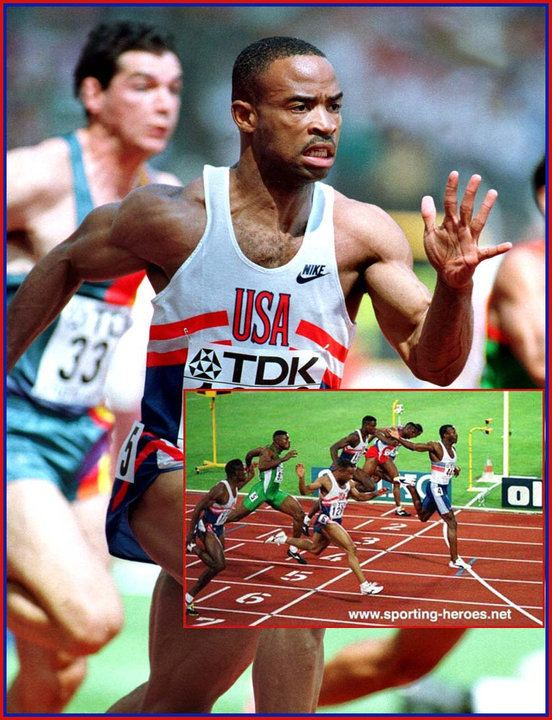 Andre Cason Andre CASON Two Golds a silver at the 1991 1993 World