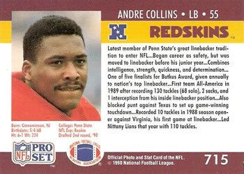 Andre Collins The Trading Card Database Andre Collins Gallery