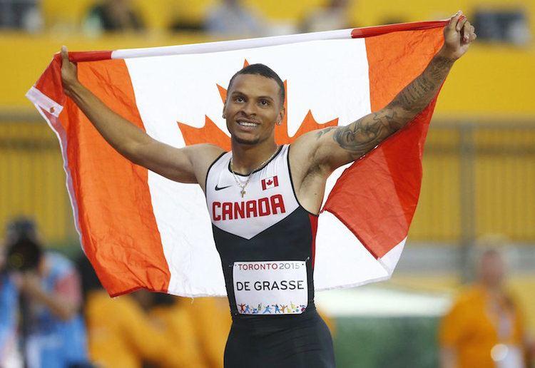 Andre De Grasse A coup De Grasse for Canada39s homegrown sprinter