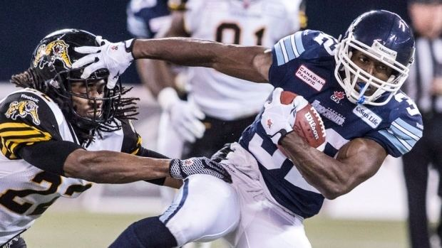 Andre Durie Andre Durie Argonauts strike contract extension CBC