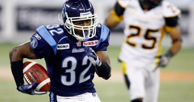 Andre Durie VIDEO ANDRE DURIE SPOTLIGHT Toronto Argonauts