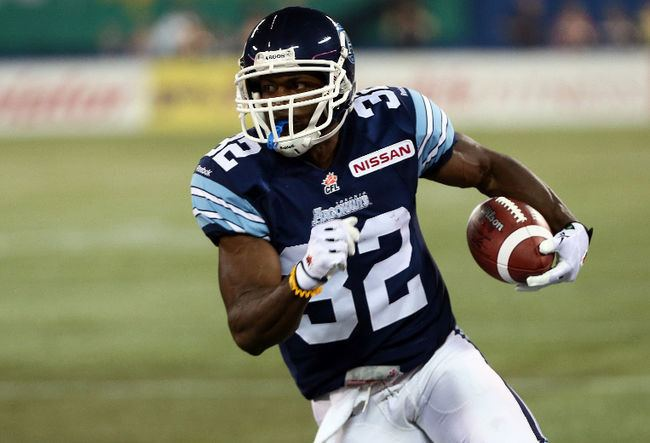 Andre Durie Argonauts shaken up by injury to Andre Durie CFL