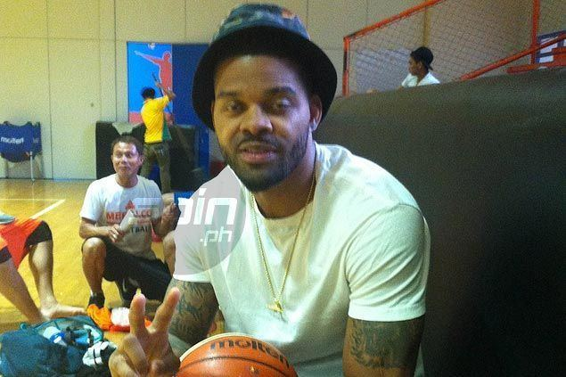 Andre Emmett Meralco import Andre Emmett rooting for Manny Pacquiao excited to
