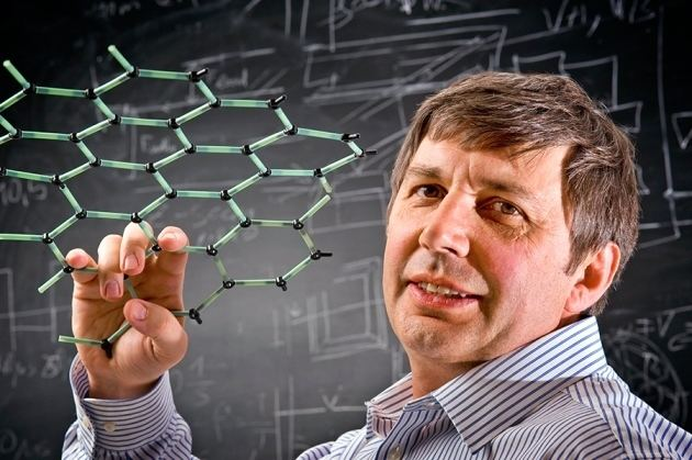 Andre Geim Andre Geim Graphene39s buzz has spread Nature News amp Comment