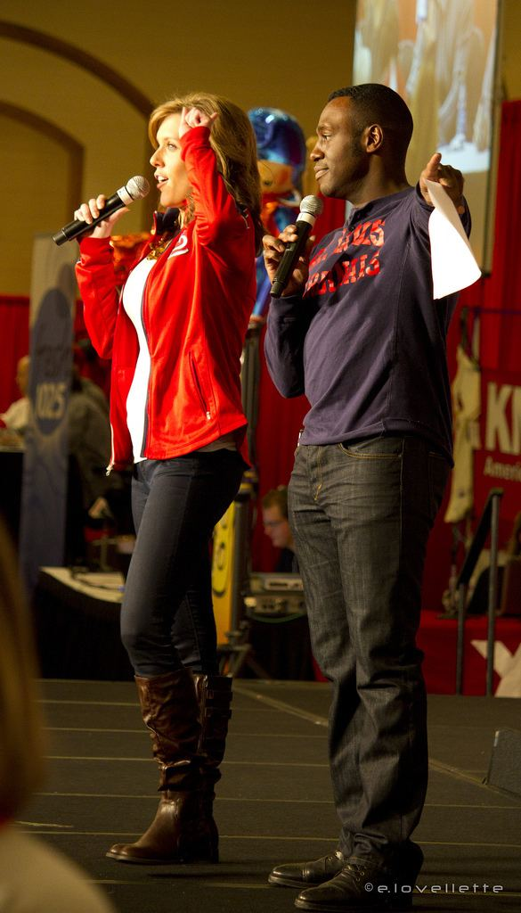 Andre Hepkins Claire Kellett and Andre Hepkins from KMOV Flickr