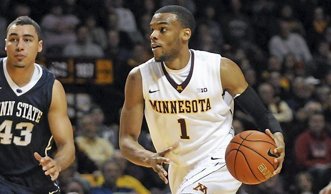 Andre Hollins Gophers basketball Andre Hollins aims to follow girlfriend Rachel