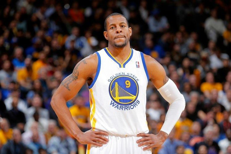 Andre Iguodala Andre Iguodala Throws Down the DoublePump Slam YouTube