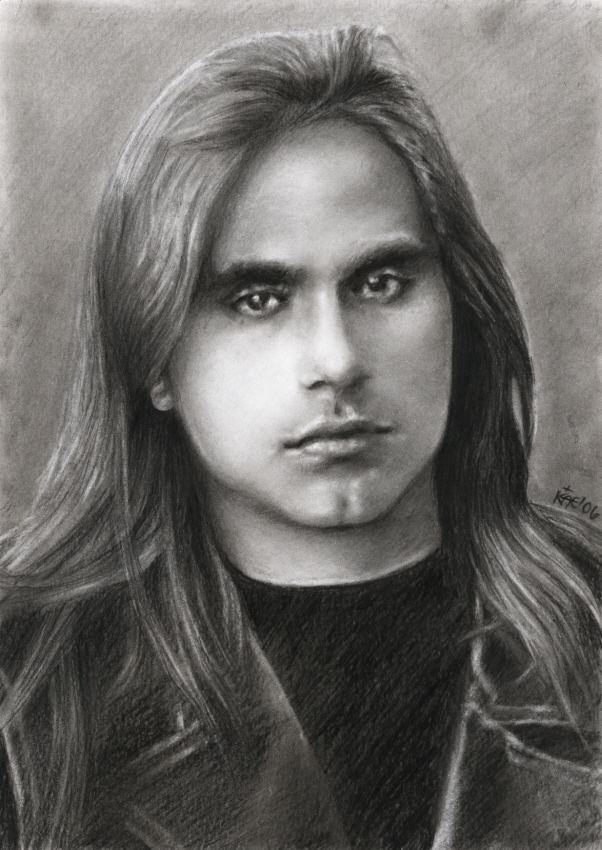Andre Matos Andre Matos The young Andre by akaLilith on DeviantArt