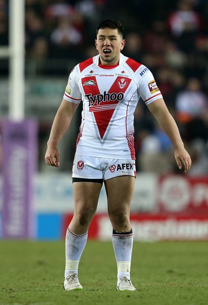 Andre Savelio Andre Savelio Photos Photos St Helens v Catalans Dragons Zimbio