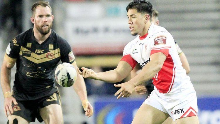 Andre Savelio Warrington Wolves sign Andre Savelio from St Helens Rugby League