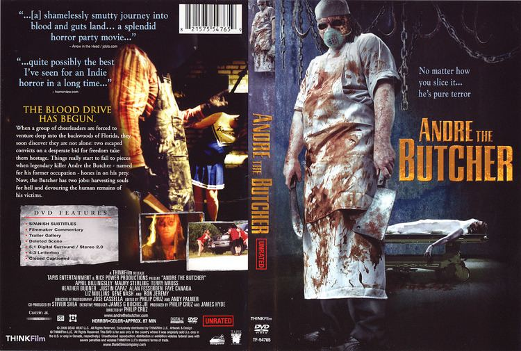 Andre the Butcher COVERSBOXSK andre the butcher 2005 high quality DVD