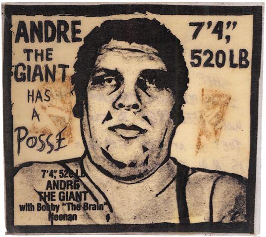 Andre the Giant Has a Posse artnet Magazine