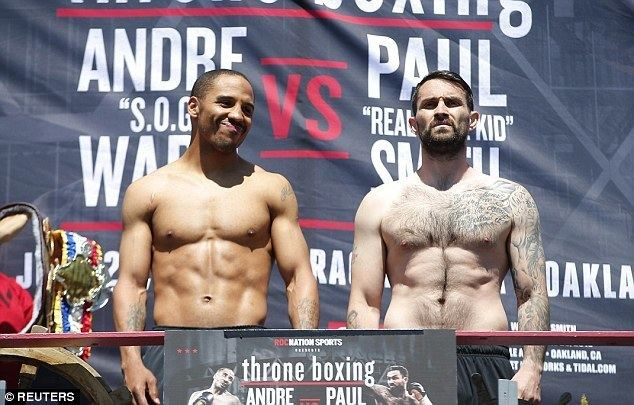 Andre Ward Paul Smith fight with Andre Ward to go ahead despite Liverpool boxer