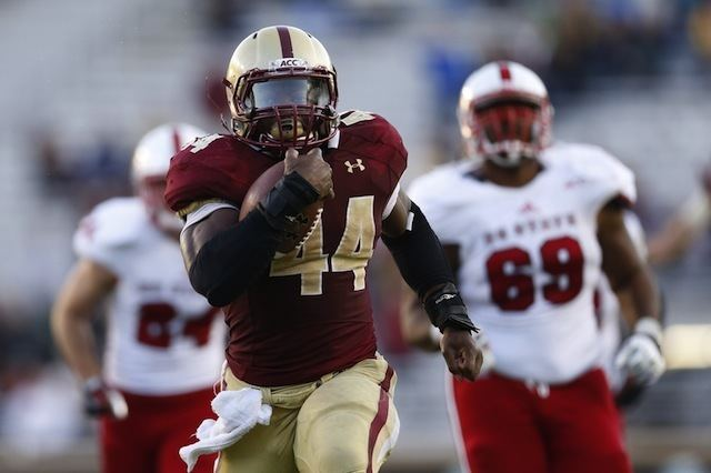 Andre Williams (American football) Boston College RB Andre Williams sets school ACC records