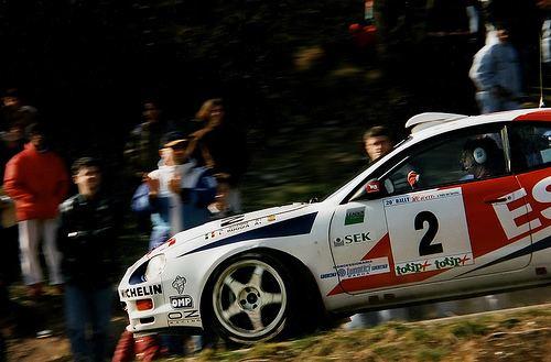 Andrea Aghini Rally del Ciocco 1997 Andrea Aghini Toyota Celica Gt