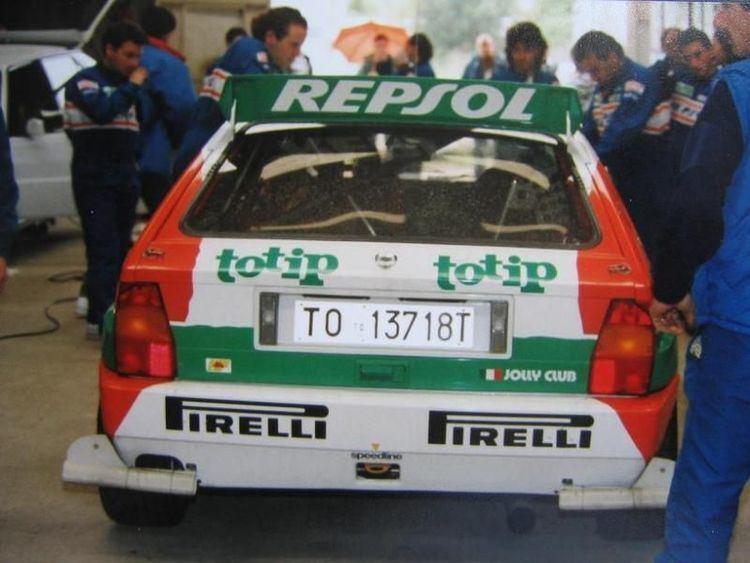 Andrea Aghini Andrea AGHINI pilote officiel LANCIA SQUADRA RACING
