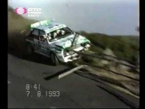 Andrea Aghini Andrea Aghini Crash Rally Vinho Madeira 1993 YouTube
