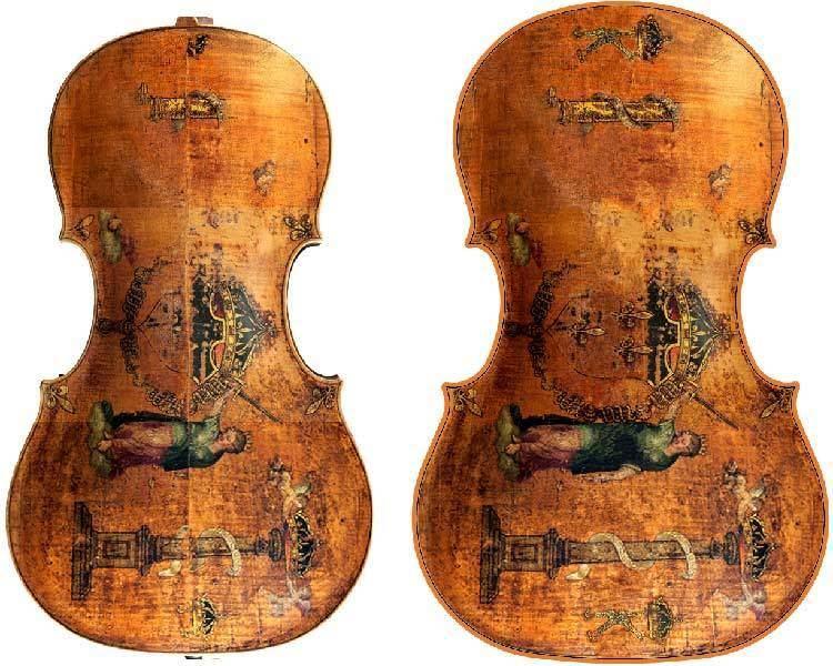 Andrea Amati Violoncello Andrea Amati by Roland Houel viola da gamba