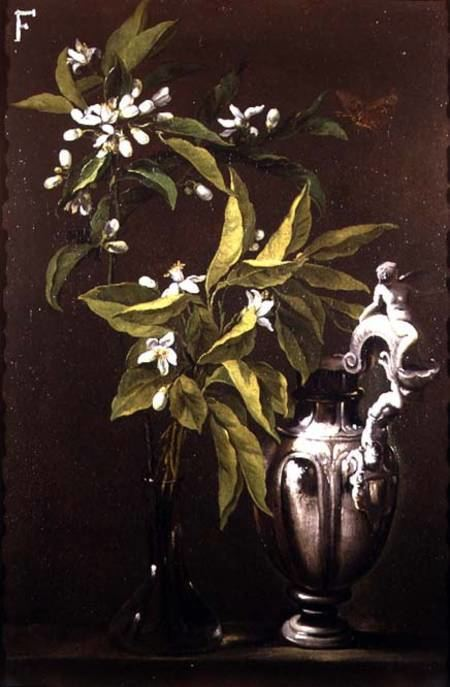 Andrea Belvedere Still Life of Flowers and a Vase Andrea Belvedere as art print or