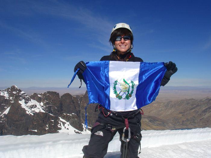 Andrea Cardona Andrea Cardona se lanza a conquistar el reto Everest
