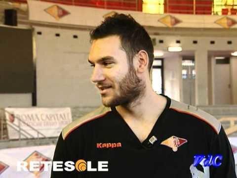 Andrea Crosariol Vite da campioni Andrea Crosariol Acea Virtus Roma basket