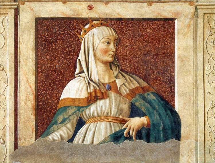Andrea del Castagno Queen Esther Andrea del Castagno WikiArtorg
