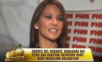Andrea del Rosario Andrea del Rosario denies Vin Diesel is the father of her child