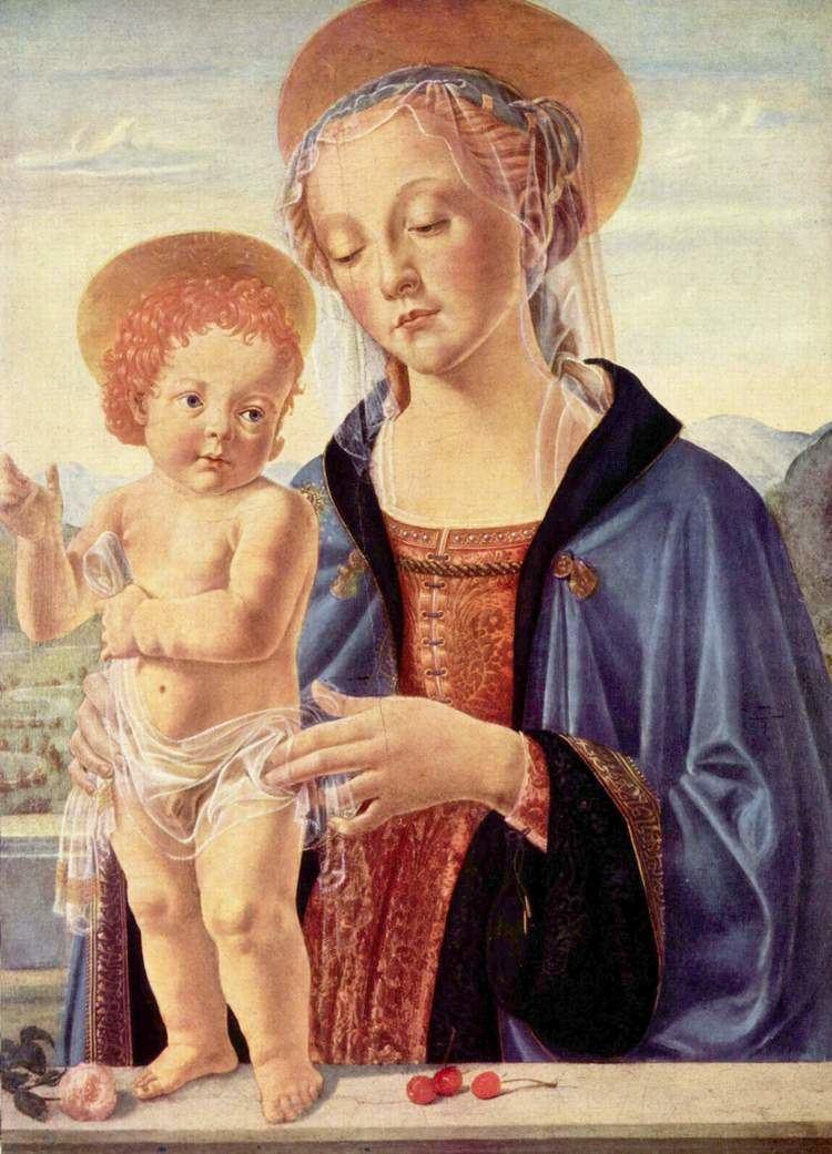 Andrea del Verrocchio Madonna and Child Andrea del Verrocchio WikiArtorg