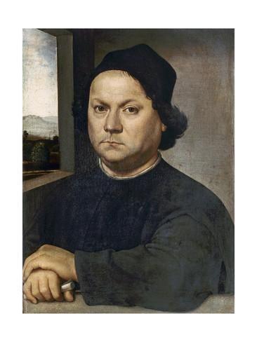Andrea del Verrocchio Portrait Presumed to Be Andrea Del Verrocchio Giclee Print