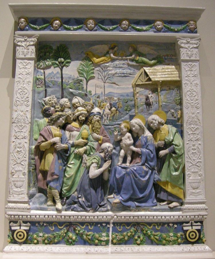 Andrea della Robbia Adoration of the Magi Andrea della Robbia Wikiwand