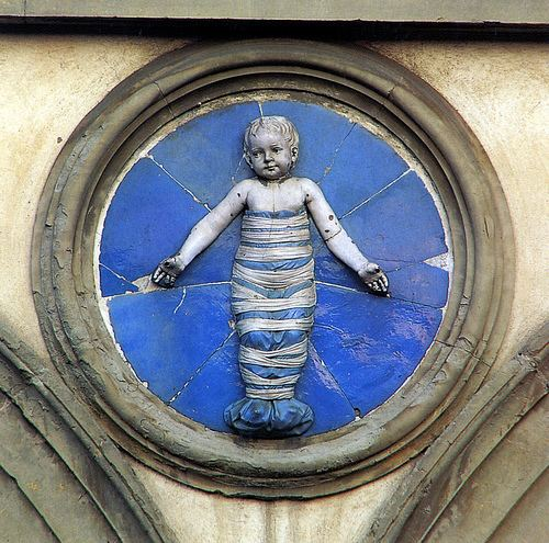 Andrea della Robbia Andrea della Robbia Trovatelli in fasce Firenze