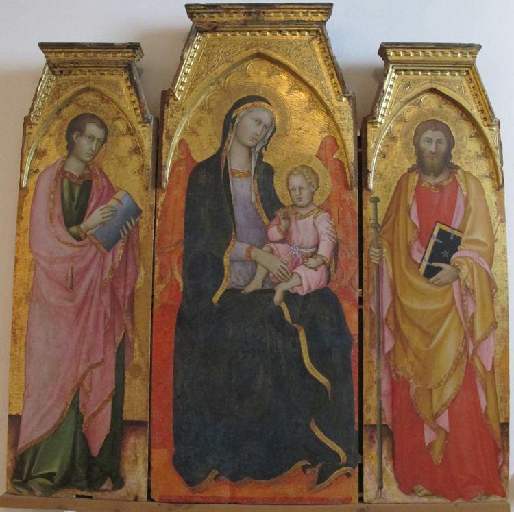 Andrea di Bartolo FileAndrea di bartolo madonna col bambino tra santi inizio XV sec