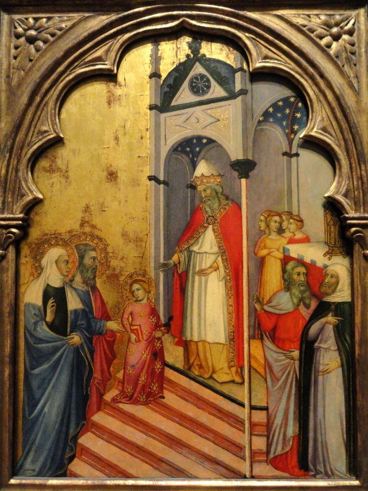 Andrea di Bartolo FileThe Presentation of the Virgin by Andrea di Bartolo c 1400