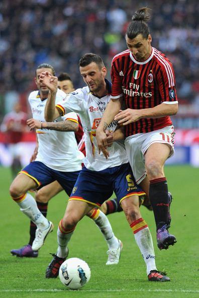 Andrea Esposito Andrea Esposito Pictures AC Milan v US Lecce Serie A