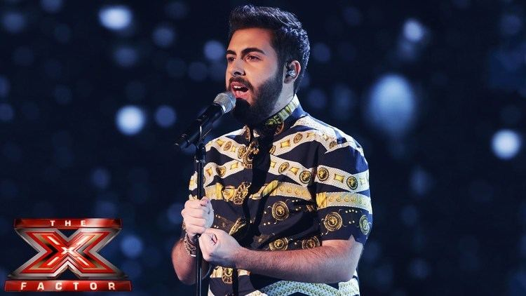 Andrea Faustini Andrea Faustini sings Beyoncs Listen Live Week 3 The X Factor