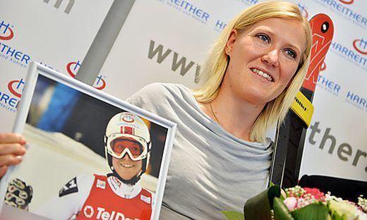 Andrea Fischbacher Ski alpin Andrea Fischbacher beendet ihre Karriere