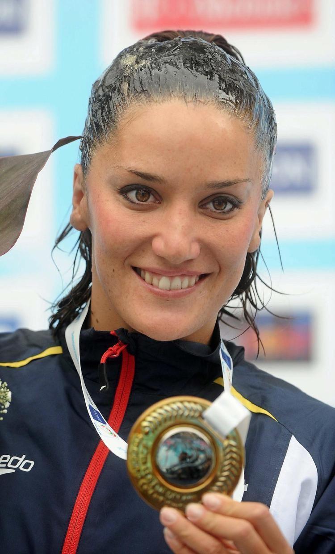 Andrea Fuentes Andrea Fuentes conquista la plata en solo Noticias